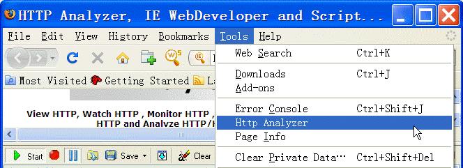 Features - IEInspector HTTP Analyzer - HTTP Sniffer, HTTP