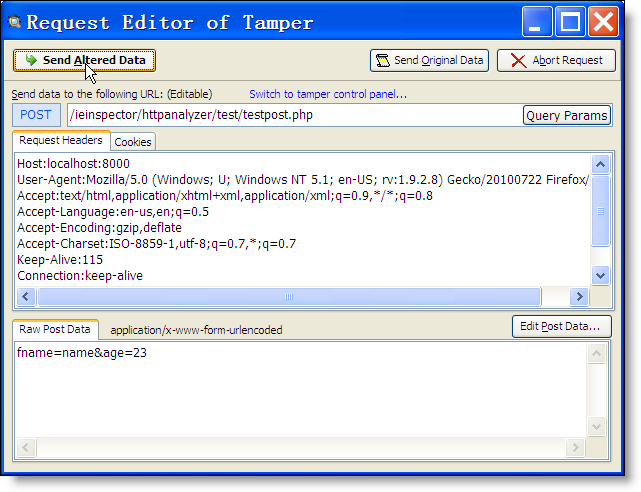 Features - IEInspector HTTP Analyzer - HTTP Sniffer, HTTP